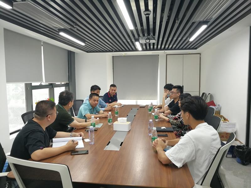 深化校企合作,建筑设计学院一行到广东丰帆工程咨询有限公司调研交流